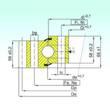 ISB EB1.25.1754.400-1SPPN упорные шарикоподшипники