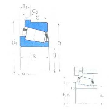 88,9 mm x 161,925 mm x 48,26 mm  Timken 759/752B конические роликовые подшипники