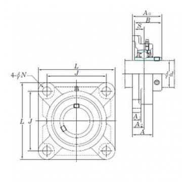 KOYO UCFX15-47E подшипниковые узлы