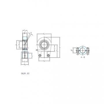 SKF SILR 120 ES подшипники скольжения