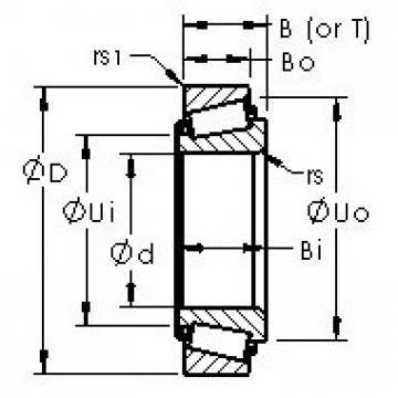 AST M88047/M88010 конические роликовые подшипники