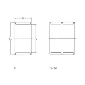SKF K50x55x13.5 игольчатые подшипники