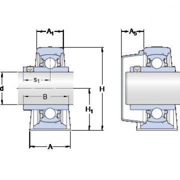 SKF SY 40 TDW подшипниковые узлы