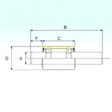15,918 mm x 30 mm x 135,3 mm  ISB WB1630135 радиальные шарикоподшипники