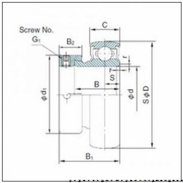 ISO 7024 CDT радиально-упорные шарикоподшипники