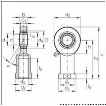 SKF 353006 Упорные конические роликовые подшипники