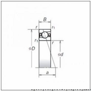 Axle end cap K85517-90010 компактный конический роликоподшипник