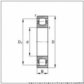 HM136948-90296 HM136916D Oil hole and groove on cup - E31318       компактный конический роликоподшипник