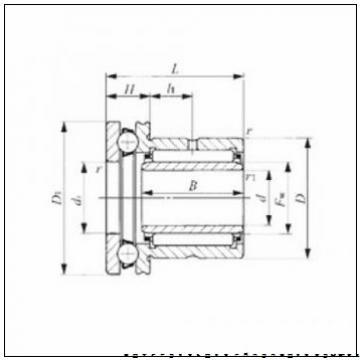 Backing spacer K120190  техническое применение подшипников Timken Ap