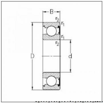 Recessed end cap K399073-90010 Backing ring K85516-90010        промышленный подшипник APTM